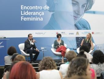 Encontro de Liderança Feminina da BM&F Bovespa. São Paulo, 2016.